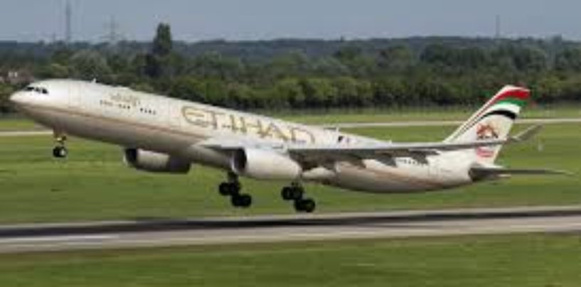 ETIHAD AIRWAYS' Maiden Madrid Flight Takes Off