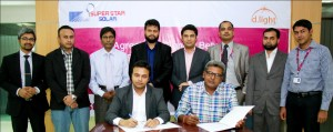 Super Star Solar Signs Business Agreement with d.light Solar