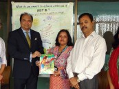 SSG Handed Over Reading material To BRAC