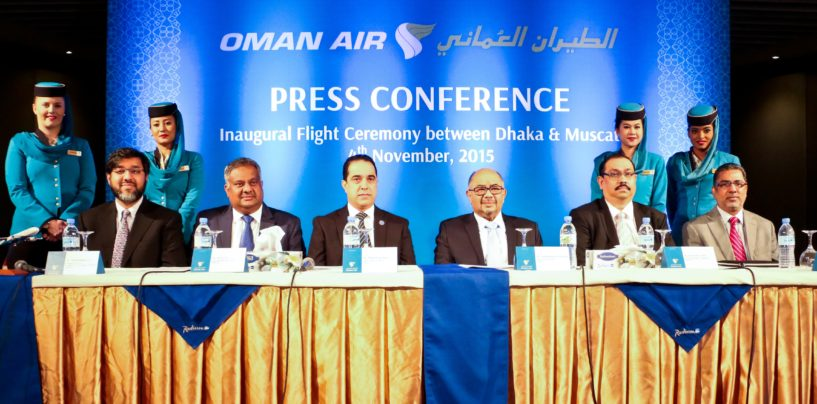 Oman Air Launches Dhaka-Muscat Direct Flights