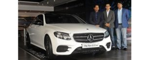 Mercedes-Benz Launches Luxury Vehicle E-Class