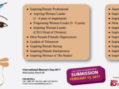 Call for Nomination – Inspiring Women Award 2017