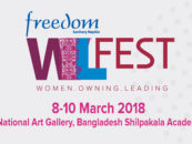 FREEDOM SANITARY NAPKIN WIL FEST TO BE HELD FROM 8-10 MARCH