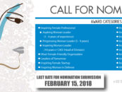 CALL FOR NOMINATION – 4TH INSPIRING WOMEN AWARD