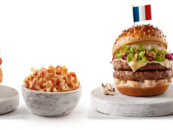 MCDONALD'S BURGER MENU FOR THE WORLD CUP CHAMPIONS