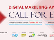 Submission Deadline Extended for DMA 2018