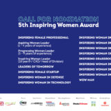 5TH INSPIRING WOMEN AWARD CALLING FOR NOMINATION