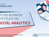 APPLIED BUSINESS CERTIFICATE ON DIGITAL ANALYTICS