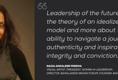 IN CONVERSATION WITH NAZIA ANDALEEB PREEMA