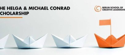 The Helga & Michael Conrad Scholarship for Creative Leaders