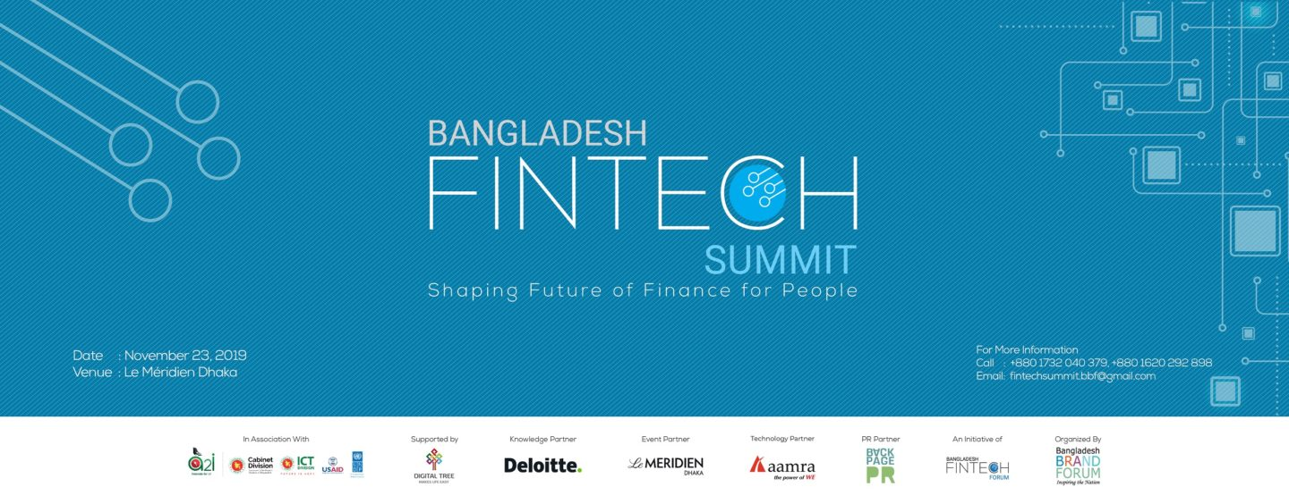REGISTRATION BEGINS FOR BANGLADESH FINTECH SUMMIT 2019