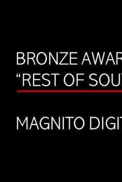 MAGNITO DIGITAL WINS BRONZE AT CAMPAIGN SOUTH ASIA