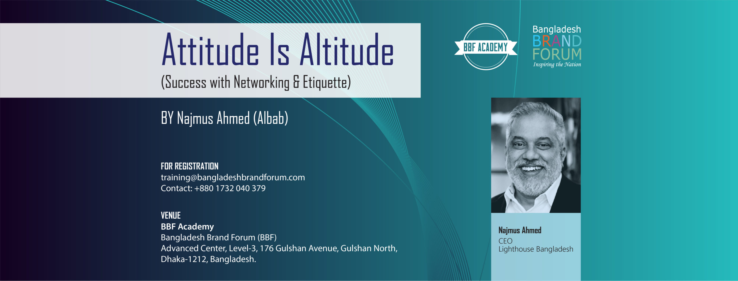 Attitude Is Altitude (Success with Networking & Etiquette)