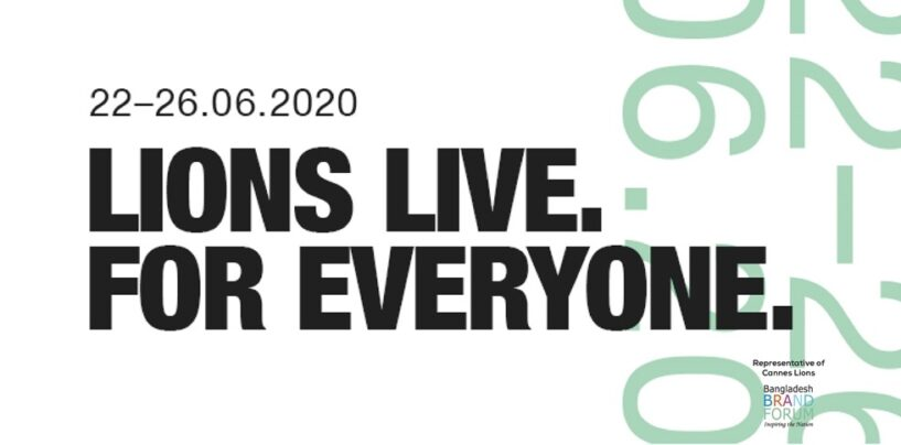 LIONS LIVE: CANNES' FIRST VIRTUAL MEETUP FOR GLOBAL CREATIVE COMMUNITY